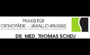 Logo von Dr. Thomas Scheu Praxis für Orthopädie, Unfallchirurgie Sportmedizin, Chirotherapie