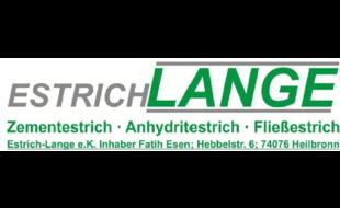 Logo von Estrich Lange e.K., Inhaber Fatih Esen