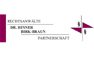 Logo von Anwaelte Dr. Hinner, Birk-Braun Partnerschaft