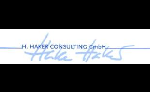Logo von H. Haker Consulting GmbH
