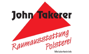 Logo von John Takerer Raumausstattung Polsterei Meisterbetrieb