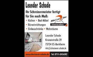Bild zu Leander Schade, Schreinerei in Berkheim Stadt Esslingen
