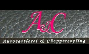 Logo von A & C Autosattlerei + Chopperstyling