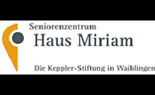 Logo von Seniorenzentrum Haus Miriam - Paul Wilhelm von Keppler-Stiftung