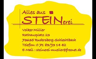 Logo von STEINerei Volker Müller