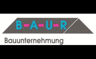 Logo von Baur Bauunternehmung