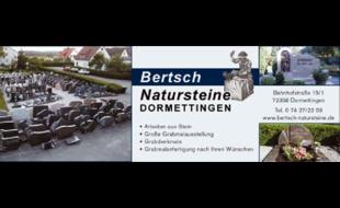 Logo von Bertsch Grabmale u. Natursteine