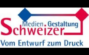 Logo von Medien. Gestaltung Schweizer