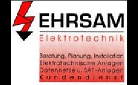 Logo von Ehrsam Elektrotechnik