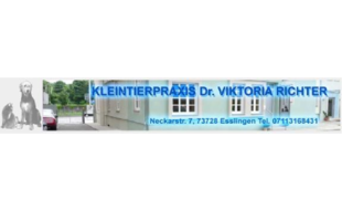 Logo von Dr. med. vet. Viktoria Richter Kleintierpraxis
