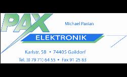 PAX - Elektronik