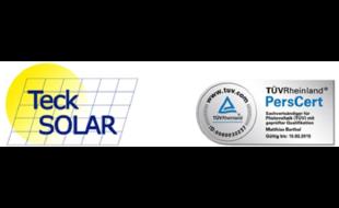 Logo von Teck Solar e.K.