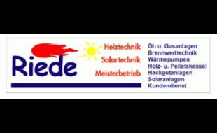 Logo von Riede Heiztechnik