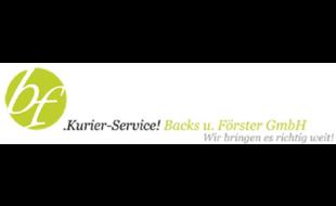 Logo von Kurier Service! Backs u. Förster GmbH