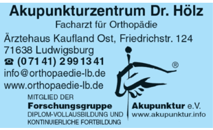 Akupunkturpraxis Dr.med. K.-D. Hölz