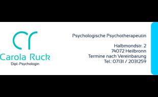 Ruck Carola Dipl. Psychologin Psychologische Psychotherapeutin