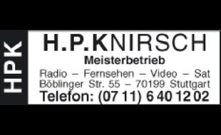 Hans-Peter Knirsch - Meisterbetrieb