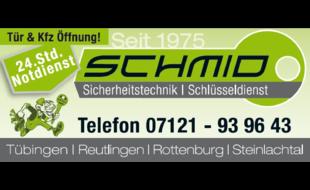Bild zu Schlüsseldienst und Sicherheitsrechnik Schmid Inh. F. Stiller in Tübingen