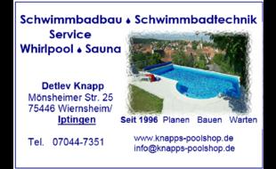 Bild zu Detlev Knapp Schwimmbadbau, Technik, Service, Whirlpool in Iptingen Gemeinde Wiernsheim