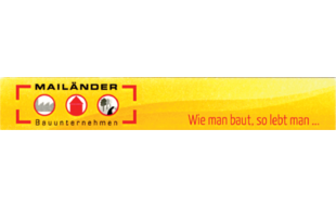 Bild zu Mailänder Bau GmbH in Ebnat Gemeinde Aalen