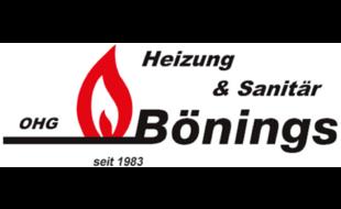 Logo von Heizungsbau Bönings OHG