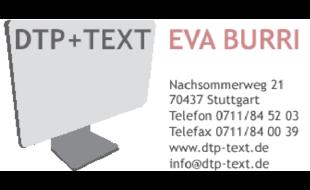 DTP + TEXT Burri Eva
