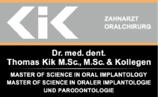 Logo von Dr. med. dent. Thomas Kik M.Sc., M.Sc & Kollegen