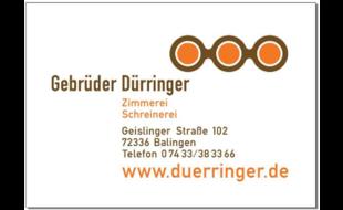 Logo von Dürringer Gebrüder GbR Zimmerei - Schreinerei