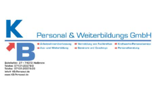 Logo von KB Personal & Weiterbildungs GmbH
