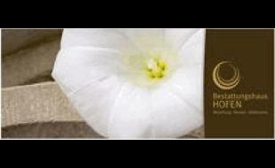 Logo von Bestattungshaus HOFEN, Bestattung - Blumen - Grabmale
