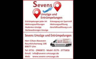 Bild zu Umzüge und Entrümpelungen Sevens in Ulm an der Donau