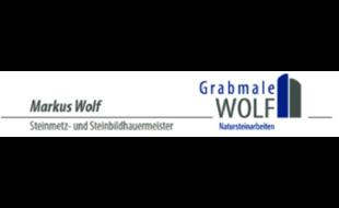 Grabmale Wolf
