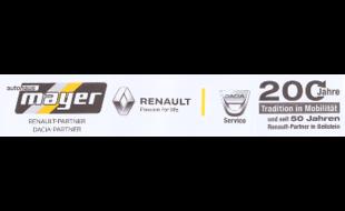 Logo von Autohaus Mayer OHG