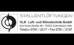 Logo von HLK Luft- und Klimatechnik GmbH