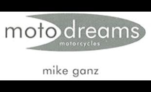 Logo von moto dreams GmbH Vertragshändler für Kawasaki, Peugot-Scooters und Kymco