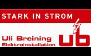Logo von Breining Uli Elektroinstallation