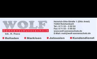 Logo von WOLF Sonnenschutztechnik