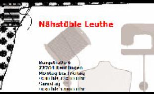 Leuthe Ulrike Nähstüble