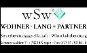 Logo von WSW Wohner Lang + Partner Steuerber.Ges. Wirtsch.Berat.