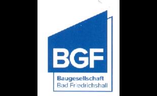 Logo von BGF Baugesellschaft Bad Friedrichshall mbH + Co. KG