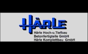 Logo von HÄRLE Hoch- u. Tiefbau