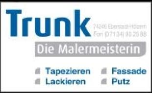Logo von Trunk Monika, Die Malermeisterin