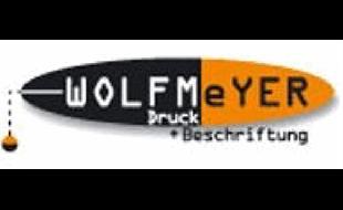 Logo von WOLFMEYER Druck