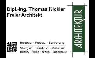 Logo von Dipl.-Ing. Thomas Kickler Freier Architekt
