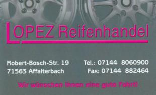 Bild zu Lopez Reifenhandel in Affalterbach in Württemberg