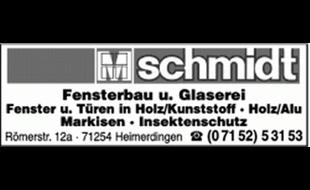 Fensterbau Schmidt