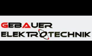 Logo von Gebauer Elektrotechnik