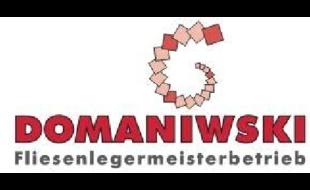 Logo von Domaniwski André Fliesenlegermeister