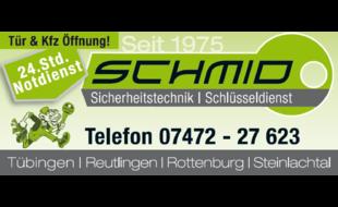 Bild zu Schlüsseldienst und Sicherheitstechnik Schmid Inh. F. Stiller in Tübingen