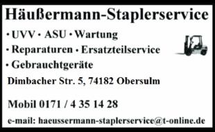 Logo von Häußermann-Staplerservice